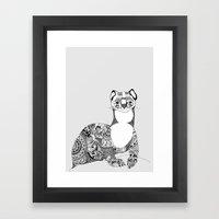 Searching For Dok Framed Art Print