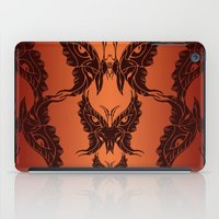 Butterfly Masks Tribal iPad Case
