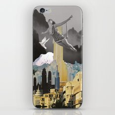 Trapeze Artist Dreams iPhone & iPod Skin