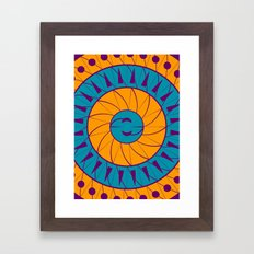 Just Woke Up Framed Art Print
