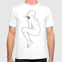 And Throat Mens Fitted Tee White SMALL