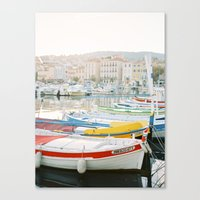 La Ciotat - Boats Canvas Print