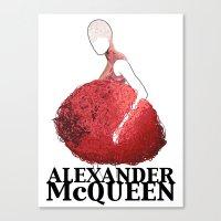 Alexander McQueen Canvas Print