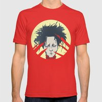 edward scissorhands Mens Fitted Tee Red SMALL