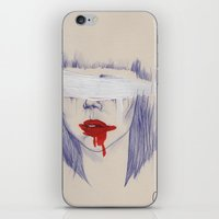 Damaged Hearts iPhone & iPod Skin