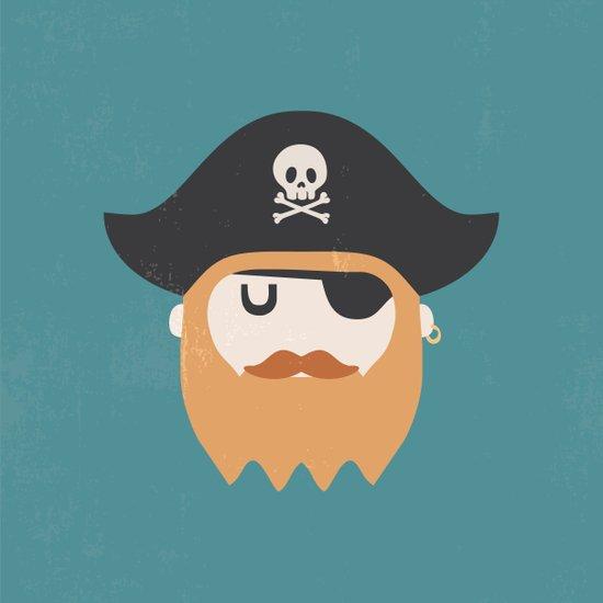 Pirate Art Print