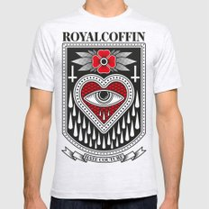 Big Eye Mens Fitted Tee Ash Grey SMALL