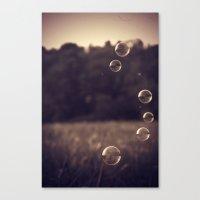 Bubbles 3 Canvas Print