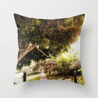 The Gateway Throw Pillow