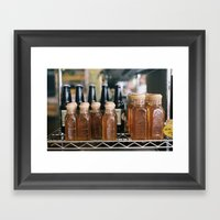 Miel Framed Art Print