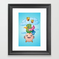 I Can Fly Framed Art Print