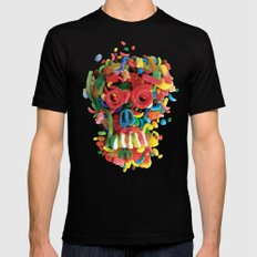 Death and Tooth Decay Mens Fitted Tee Black SMALL