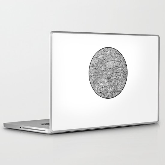 Caught Inside III Laptop & iPad Skin
