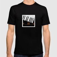 BROKEN  P . . . AN . . .… Mens Fitted Tee Black SMALL