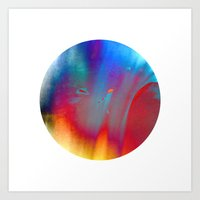 earth, wind and fire Art Print