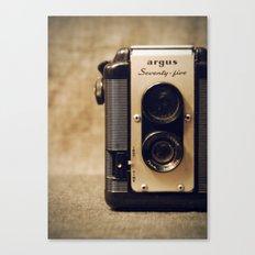 Argus Twin Lens. Canvas Print