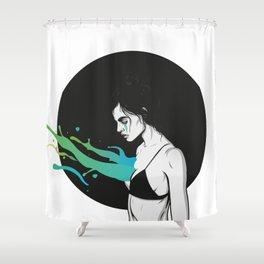 Shower Curtain - Let it out - Roland Banrevi