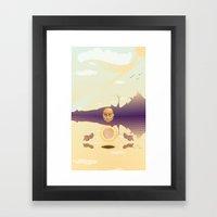 Center Framed Art Print