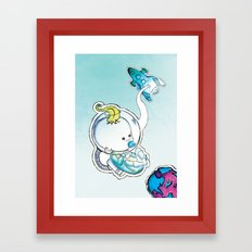 In Space Framed Art Print