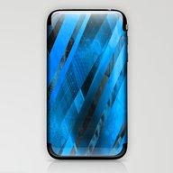 Free Floating Pattern (b… iPhone & iPod Skin