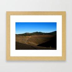 Lassen Volcanic National Park - Cinder Cone Valcano Framed Art Print