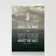 Adjust The Sails Stationery Cards