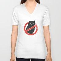 No Owls Unisex V-Neck