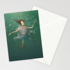 Dancing With Jellyfish Stationery Cards