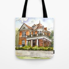 Stately Manor House Tote Bag