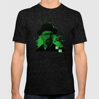 Breaking Bad Green Mens Fitted Tee Tri-Black SMALL