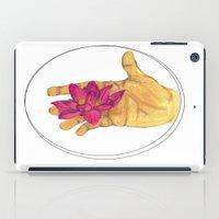 Lotus Palm iPad Case