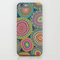 iPhone & iPod Case featuring Boho Patchwork-Eden colors by Groovity