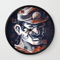 Depixelization M Wall Clock