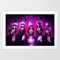 Dark Priests Art Print
