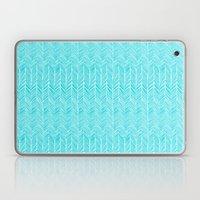 Freeform Arrows In Turqu… Laptop & iPad Skin