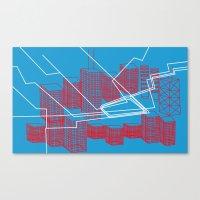 Chicago EL Train Canvas Print
