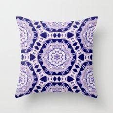 Velvet Flower Throw Pillow