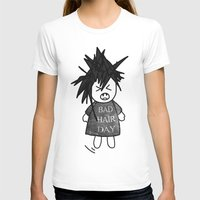 T-shirt featuring Bad Hair Day by jUNki