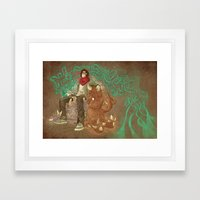 Creationists Framed Art Print