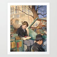 The Bookseller's Son Art Print