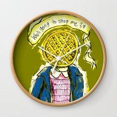 Be Brave Eleven - Eggo head Wall Clock