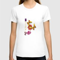 The Pond Womens Fitted Tee White SMALL