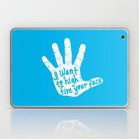 Hand to Face Laptop & iPad Skin