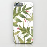 iPhone & iPod Case featuring Pink flowers by Cecilia Andersson