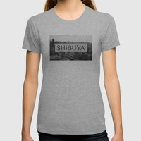 SHIBUYA Womens Fitted Tee Athletic Grey SMALL