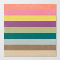 Of Autumns Past / Rainbow Canvas Print