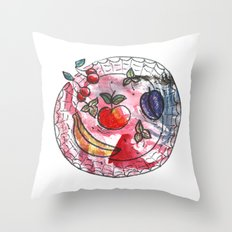 Fruit on a platter Throw Pillow