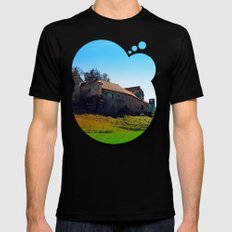 Waldenfels Castle VII Mens Fitted Tee Black SMALL