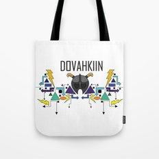 Skyrim: The Dovahkiin - BLUE Tote Bag