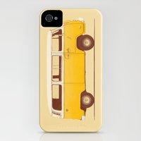 iPhone Cases featuring Yellow Van by Speakerine / Florent Bodart